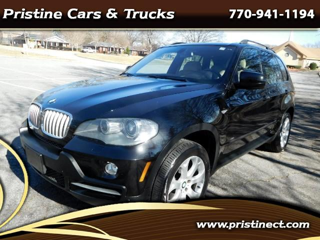 2007 BMW X5 4.8i 3rd Rear Seats Navigation