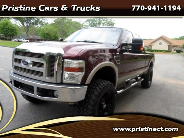 2010 Ford F-250 SD Lariat Crew Cab Long Bed 4WD