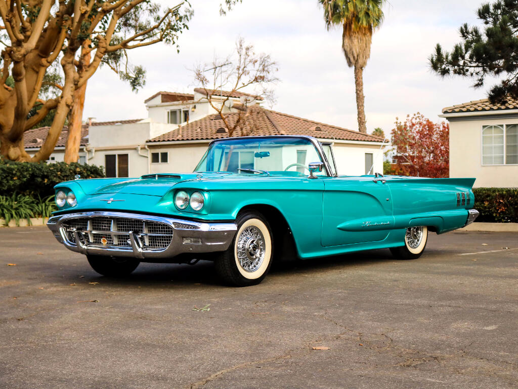 1960 Ford Thunderbird 2dr Convertible Deluxe