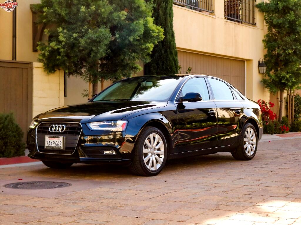 2013 Audi A4 2.0 T Sedan FrontTrak Multitronic