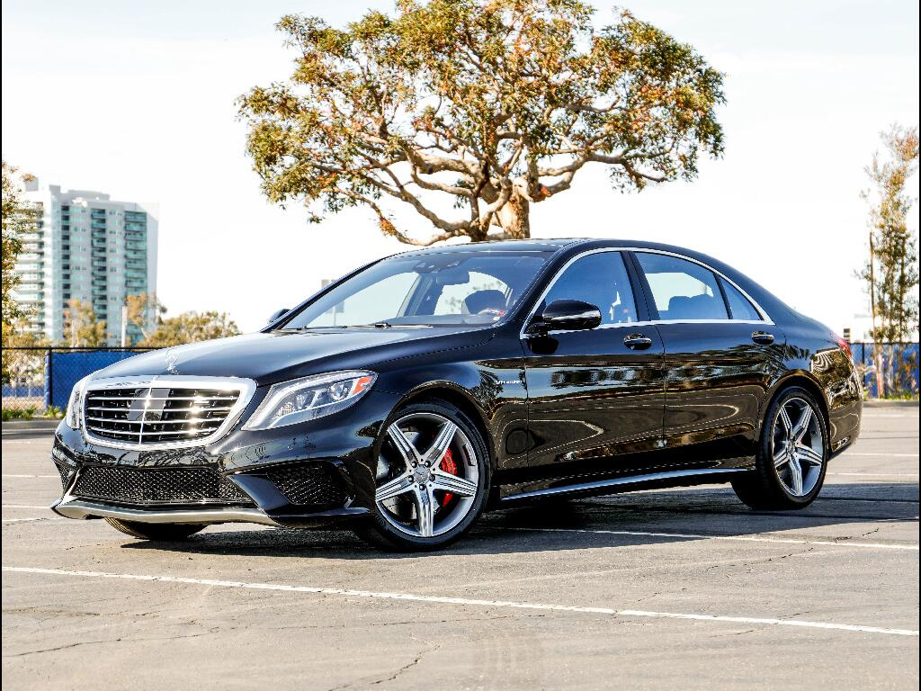 2016 Mercedes-Benz S63 AMG 4MATIC
