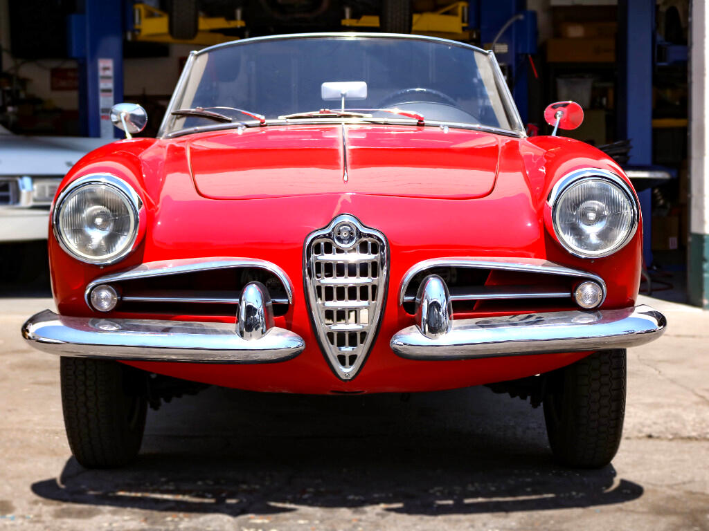 1960 Alfa Romeo Giulietta Veloce Spider