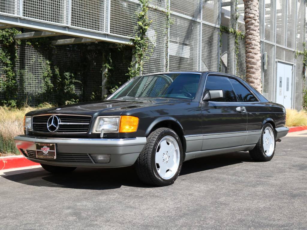 1988 Mercedes-Benz 560 SEC coupe