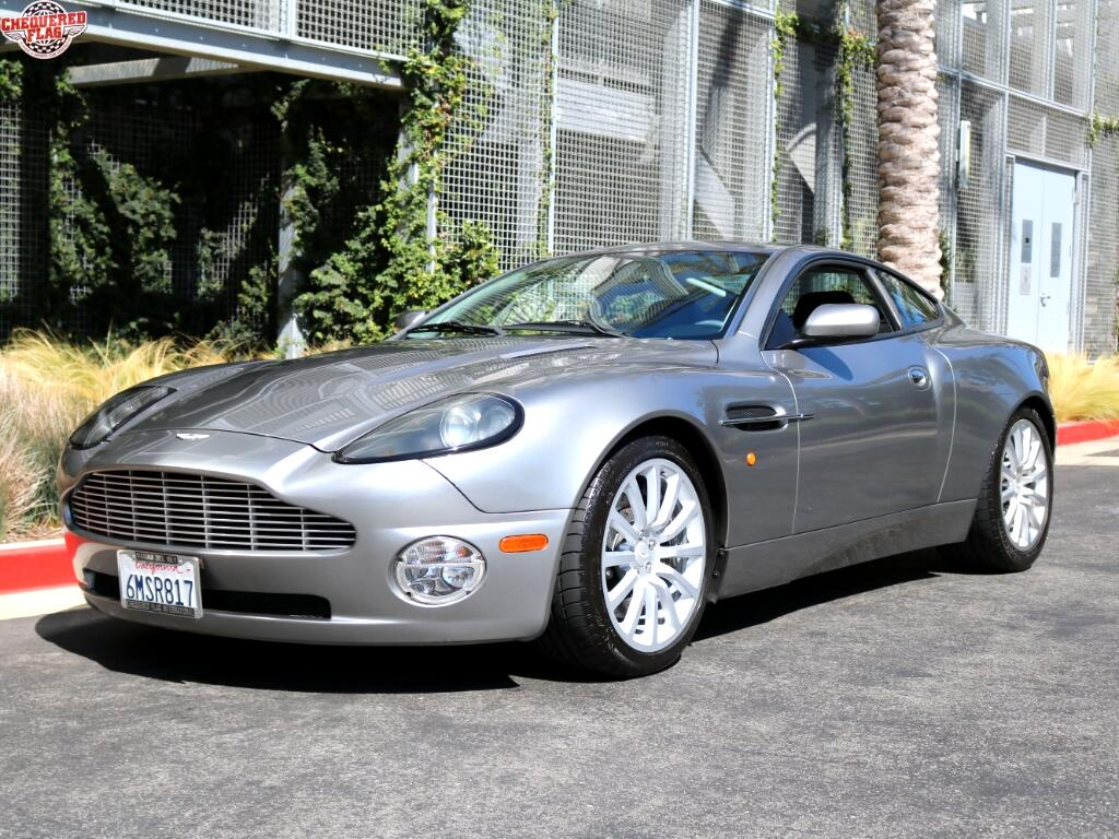 2003 Aston Martin V12 Vanquish Coupe