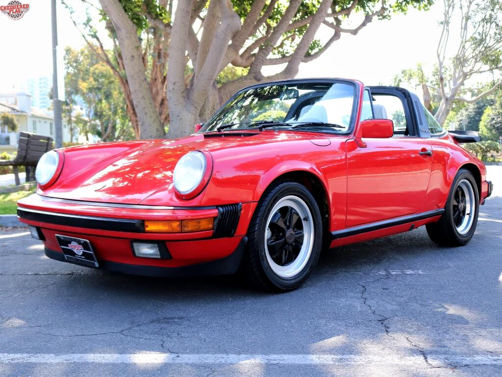 1988 Porsche 911 Carrera Targa