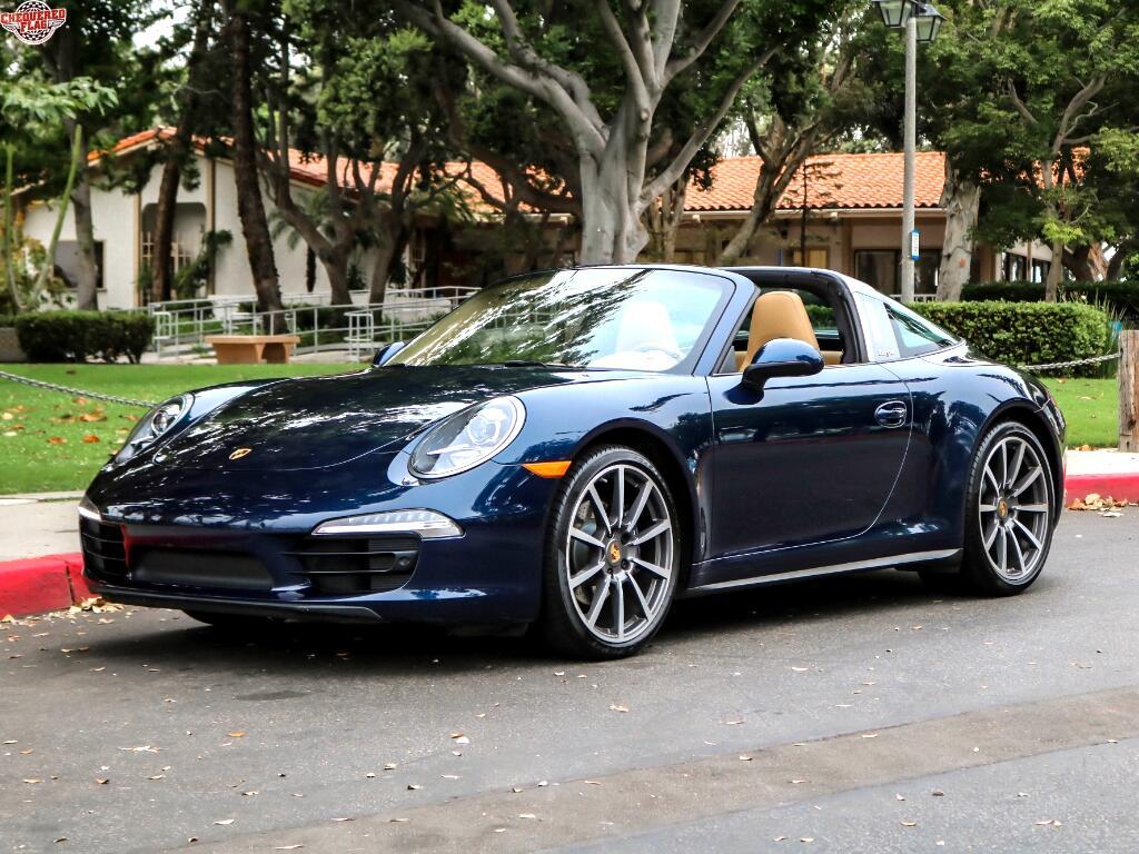 2015 Porsche 911 Targa 4