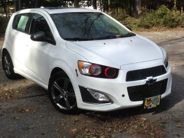 2013 Chevrolet Sonic RS Auto 5-Door