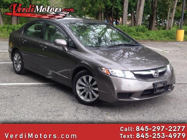 2010 Honda Civic EX Sedan 5-Speed AT