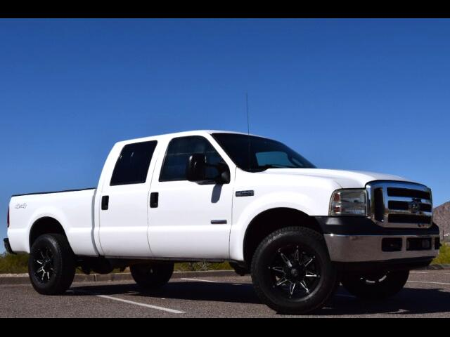 2007 Ford F-250 SD XLT Crew Cab Short Bed 4WD