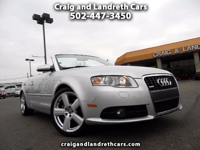 2007 Audi A4 2.0T Cabriolet quattro with Tiptronic