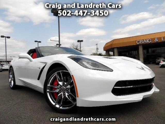2016 Chevrolet Corvette Stingray 2LT Convertible