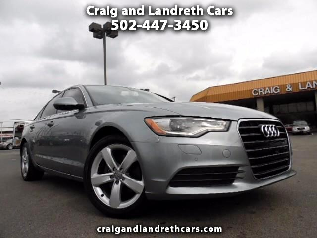 2012 Audi A6 2.0T Premium Sedan FrontTrak Multitronic
