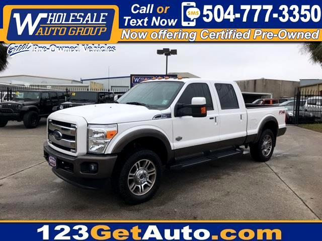 2015 Ford F-250 SD King Ranch
