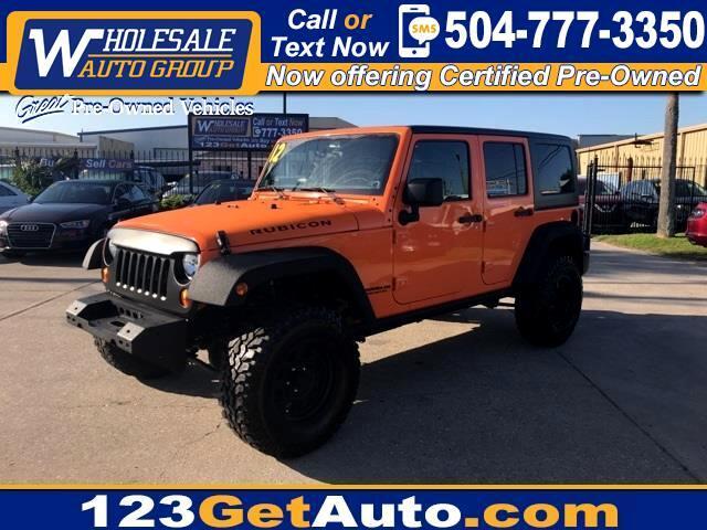 2012 Jeep Wrangler Unlimited Rubicon