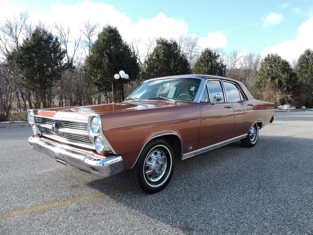 1966 Ford Fairlane 4dr sedan