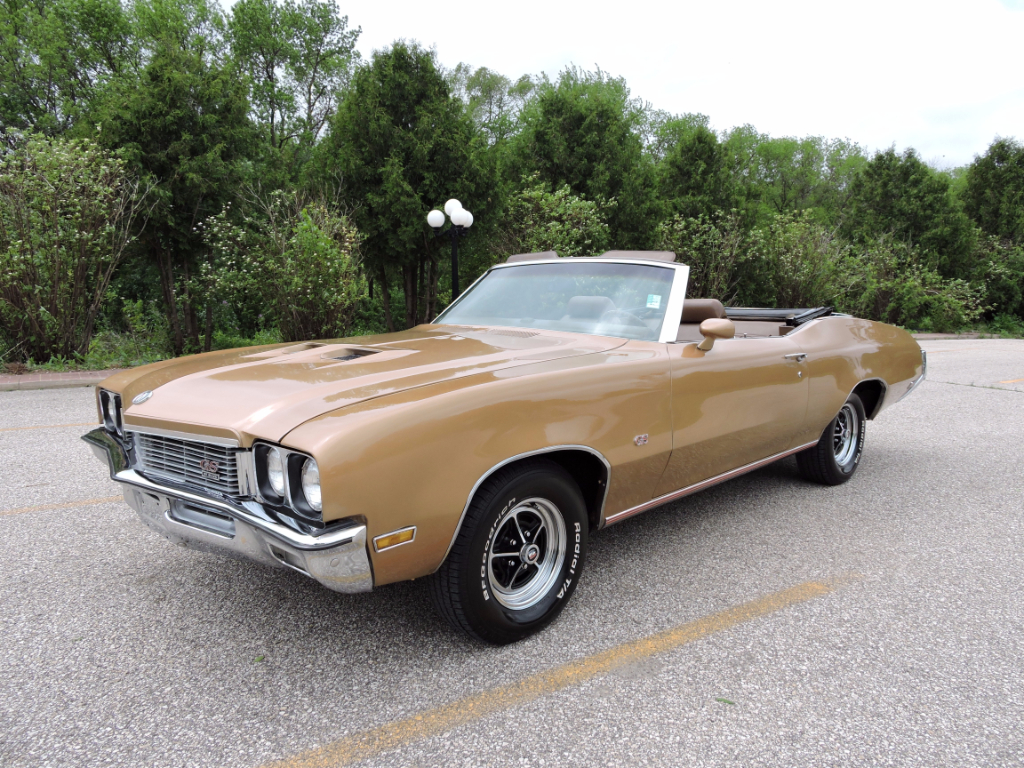 1972 Buick GS Convertible