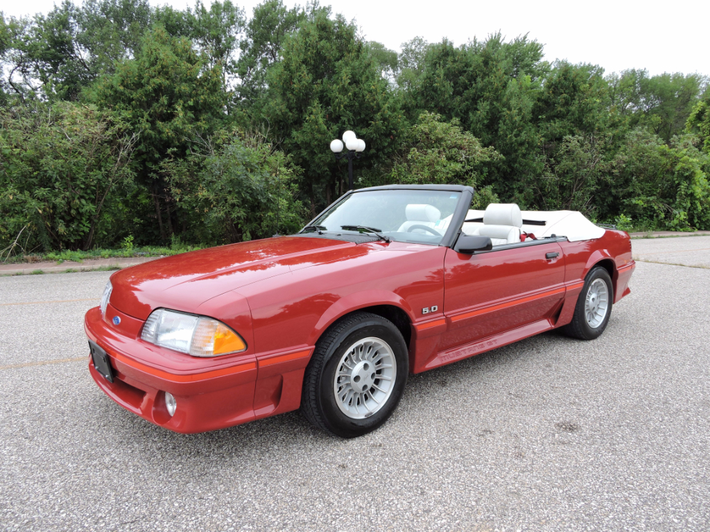 1987 Ford Mustang GT Premium Convertible