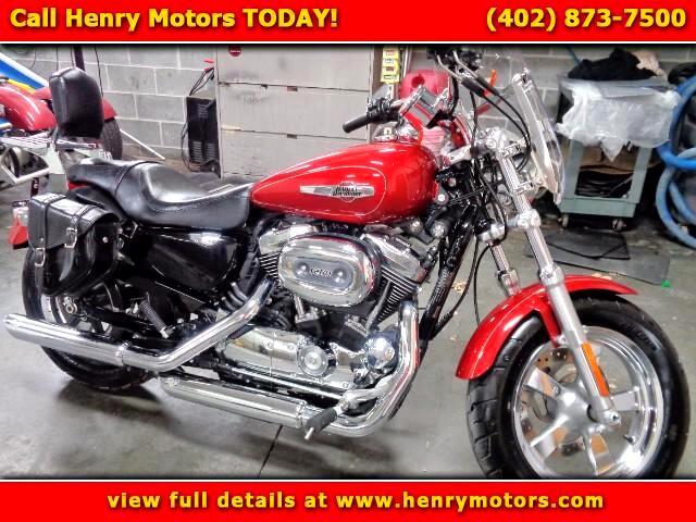 2014 Harley-Davidson XL1200C Sportster Custom