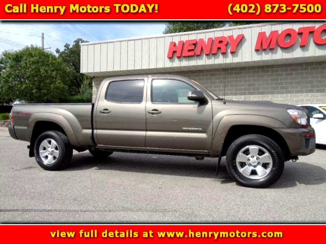 2014 Toyota Tacoma SR5 Double Cab Super Long Bed V6 6AT 4WD