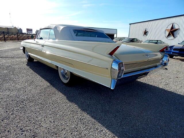 1962 Cadillac 62 Convertiable