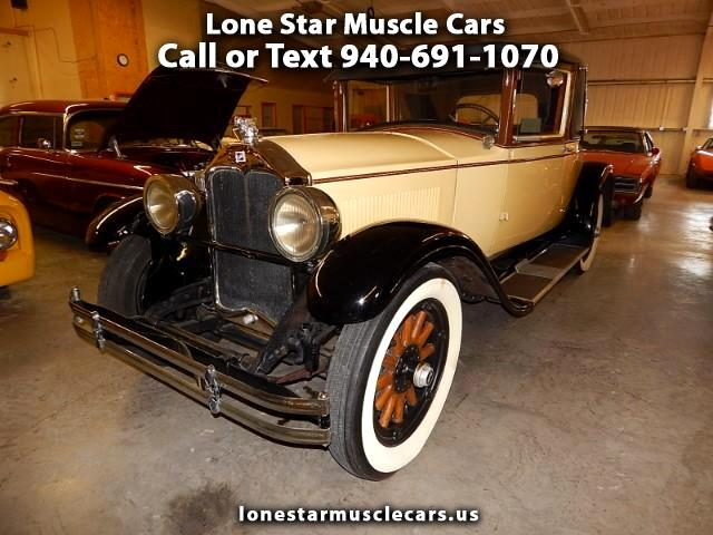 1928 Buick Business Coupe Buick Master Country Club Coupe