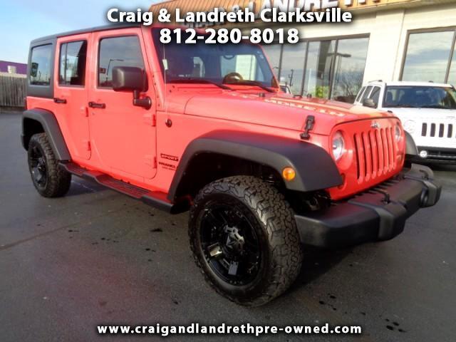 2013 Jeep Wrangler Unlimited Sport 4WD