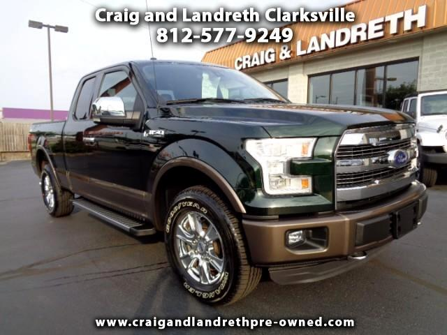 2015 Ford F-150 Lariat SuperCab 4WD