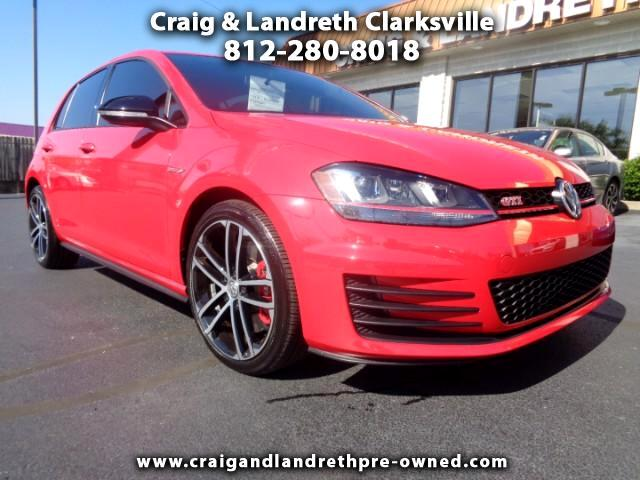 2017 Volkswagen Golf GTI SE 6M 4-Door