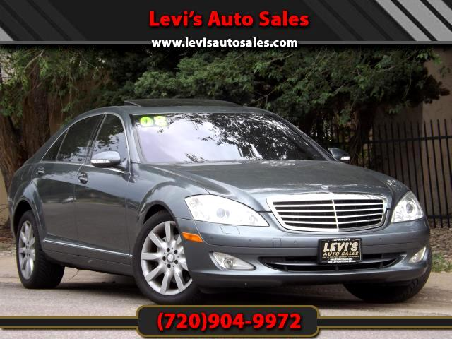 2008 Mercedes S-Class DEAR VALUED CUSTOMER PLEASE TAKE A MOMMENT TO LOOK AT THIS VEHICLE DETAILSPIC