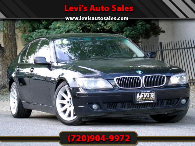 2006 BMW 7-Series DEAR VALUED CUSTOMER PLEASE TAKE A MOMMENT TO LOOK AT THIS VEHICLE DETAILSPICTURE