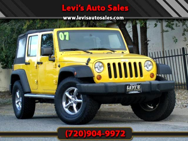 2007 Jeep Wrangler DEAR VALUED CUSTOMER PLEASE TAKE A MOMMENT TO LOOK AT THIS VEHICLE DETAILSPICTUR