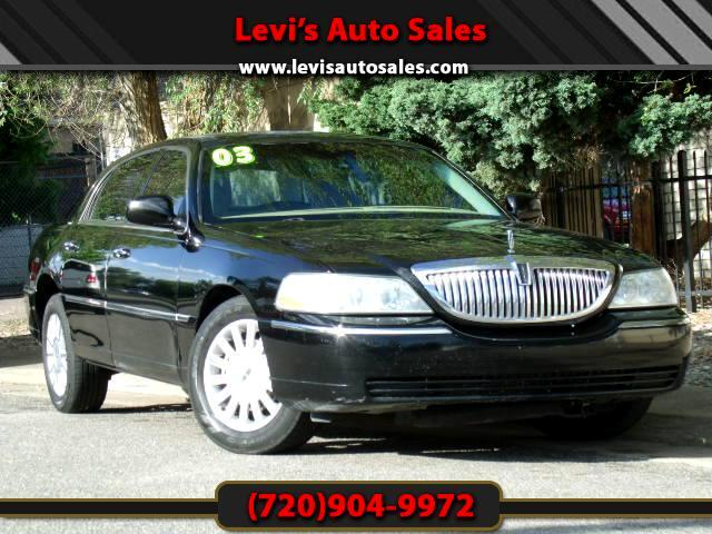 2003 Lincoln Town Car DEAR VALUED CUSTOMER PLEASE TAKE A MOMMENT TO LOOK AT THIS VEHICLE DETAILSPIC
