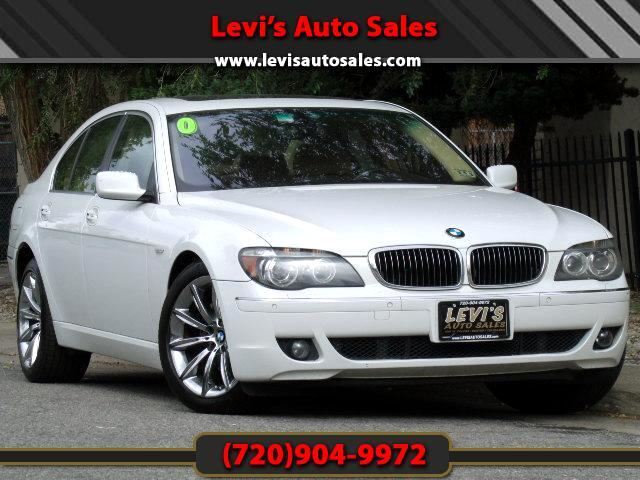 2007 BMW 7-Series DEAR VALUED CUSTOMER PLEASE TAKE A MOMMENT TO LOOK AT THIS VEHICLE DETAILSPICTURE