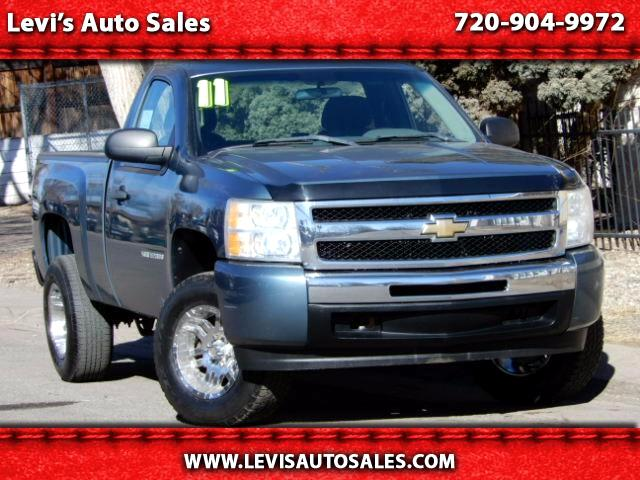 2011 Chevrolet Silverado 1500 LS Short Bed 4WD