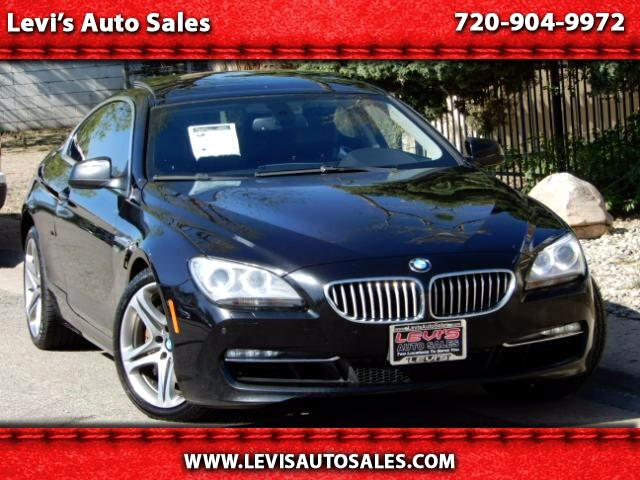 2012 BMW 6-Series 650i xDrive Coupe
