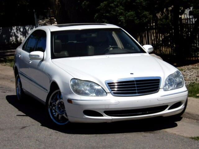 2005 Mercedes-Benz S-Class S500