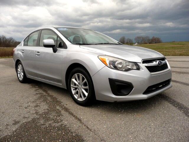 2012 Subaru Impreza Premium 4-Door