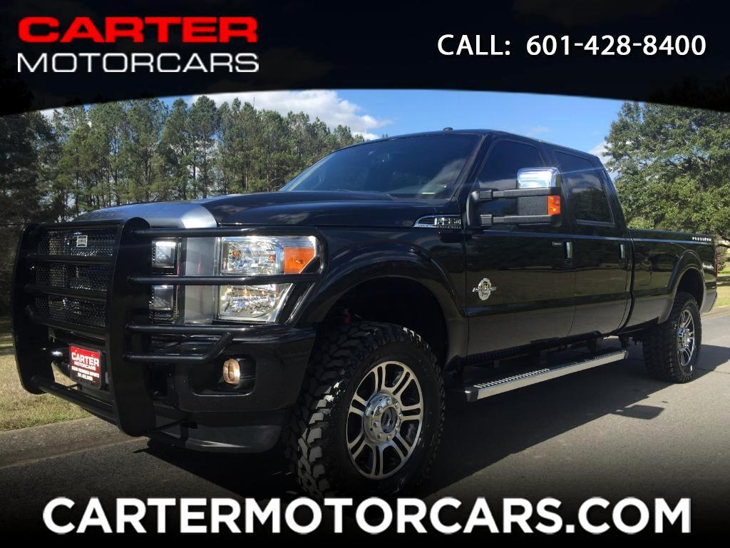 2013 Ford F-350 SD Platinum Crew Cab Long Bed 4WD