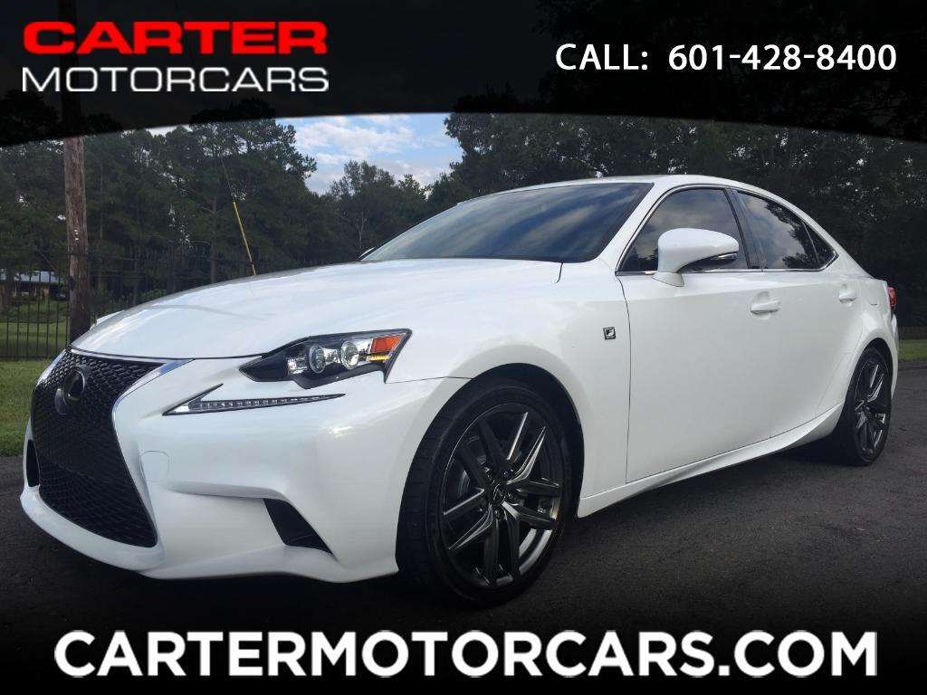 2015 Lexus IS 250 F-Sport