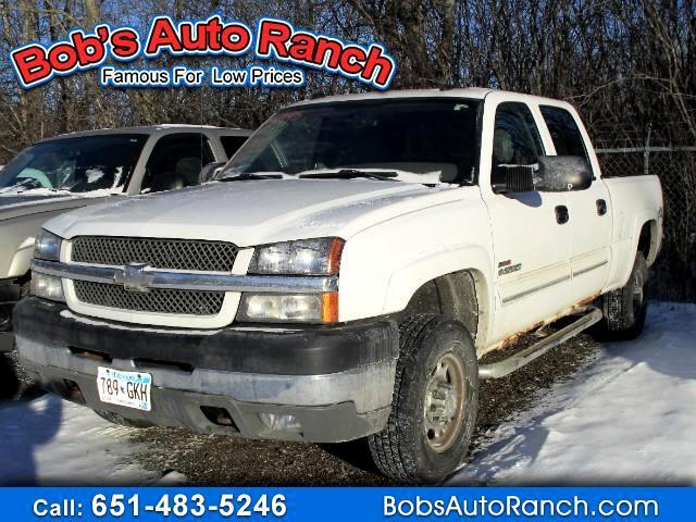 2004 Chevrolet Silverado 2500HD LT Crew Cab Short Bed 4WD