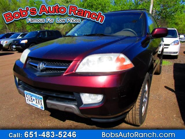 RPMWired.com car search / 2001 Acura MDX