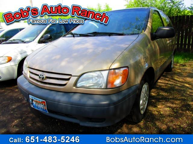 RPMWired.com car search / 2002 Toyota Sienna