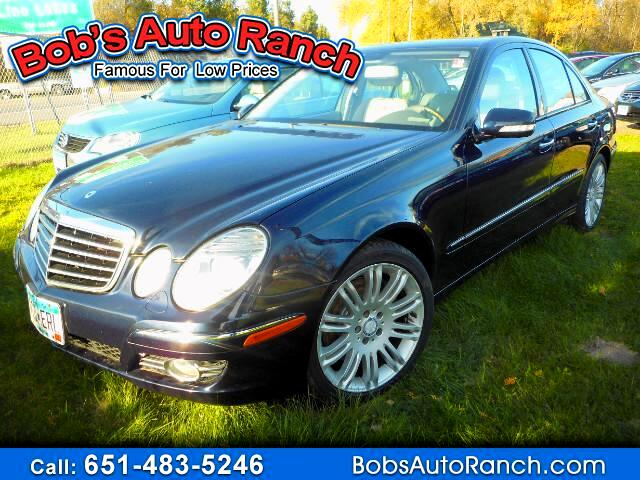 2008 Mercedes-Benz E-Class E350 4MATIC Sedan