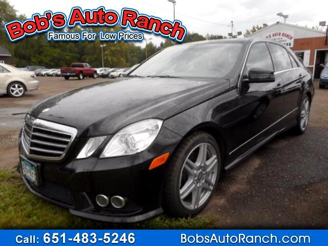 2010 Mercedes-Benz E-Class E350 4MATIC Sedan