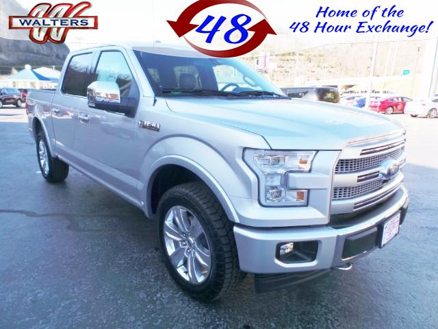 2017 Ford F-150 4x4 SuperCrew Platinum