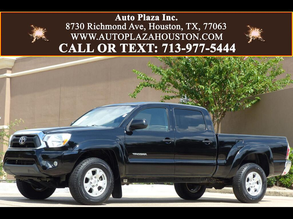 used 2012 toyota tacoma prerunner double cab long bed v6 2wd for sale in houston tx 77063 auto. Black Bedroom Furniture Sets. Home Design Ideas