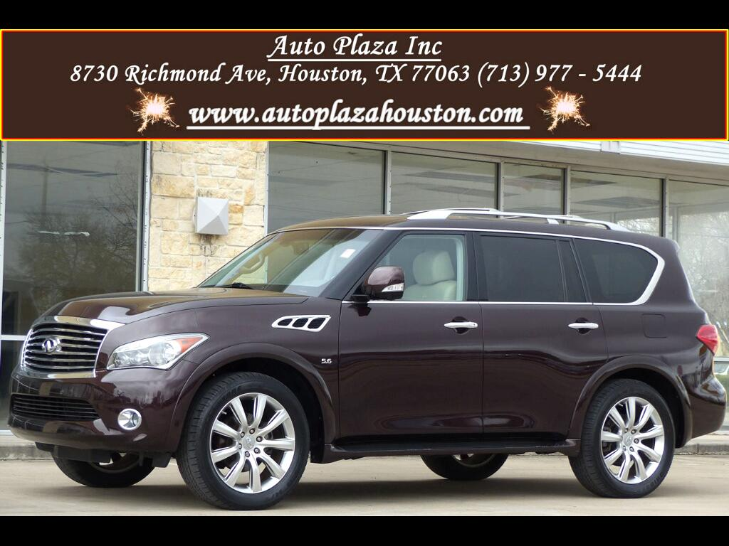 2014 Infiniti QX80 W/ Theater Package