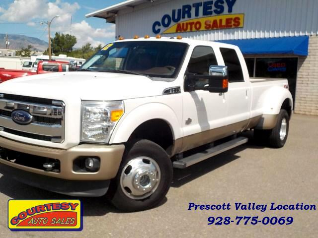 2012 Ford F-350 SD King Ranch Crew Cab Long Bed DRW 4WD