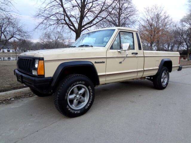1989 Jeep Comanche 2WD