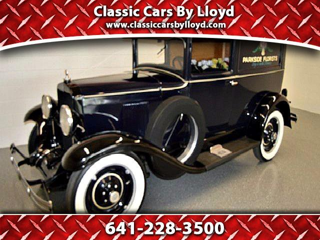 1930 Chevrolet 3 Window Light Duty Panel Delivery